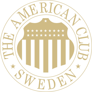 The American Club Sweden logo embossed