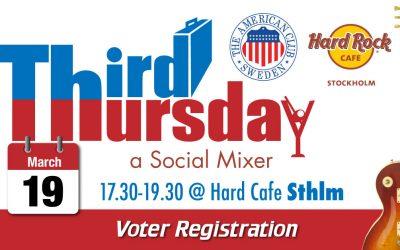 Third Thursday Mixer, March 19 @ Hard Rock