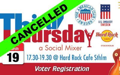 CANCELLED: Third Thursday, March 19 @ Hard Rock