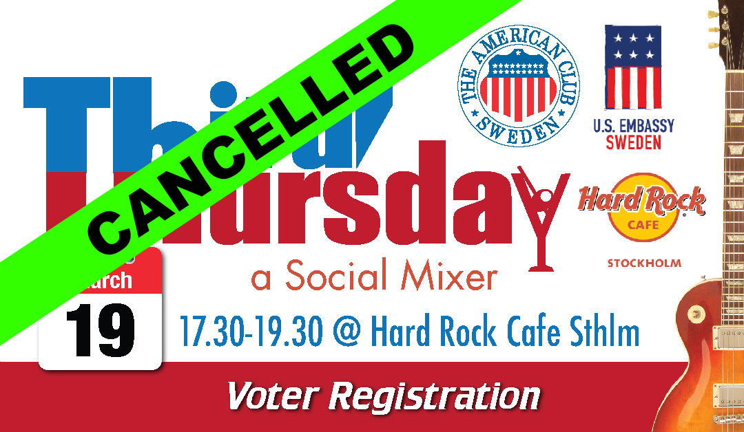 CANCELLED: Third Thursday, March 19 @ Hard Rock