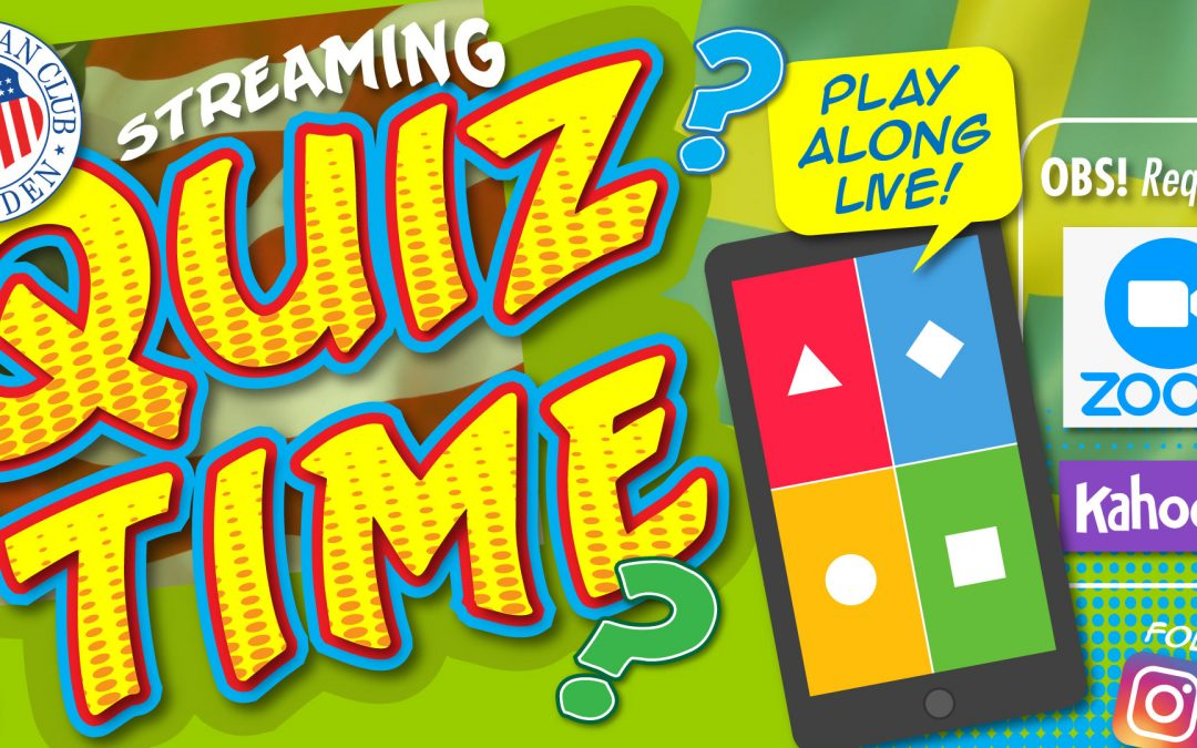 ACS Quiz Time Event – June 18