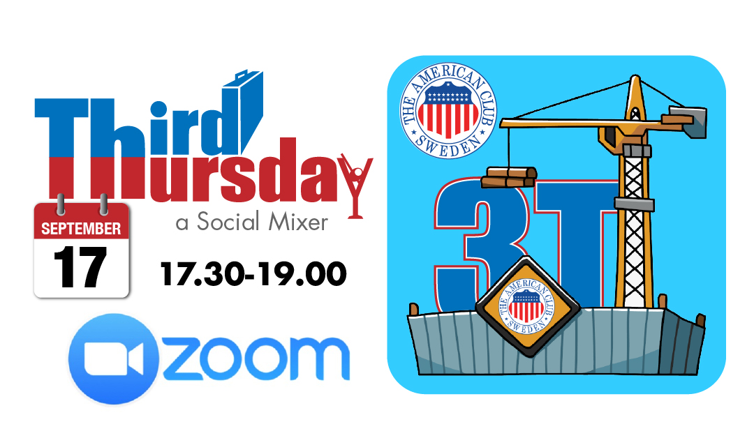Third Thursday ONLINE Mixer, Sept. 17