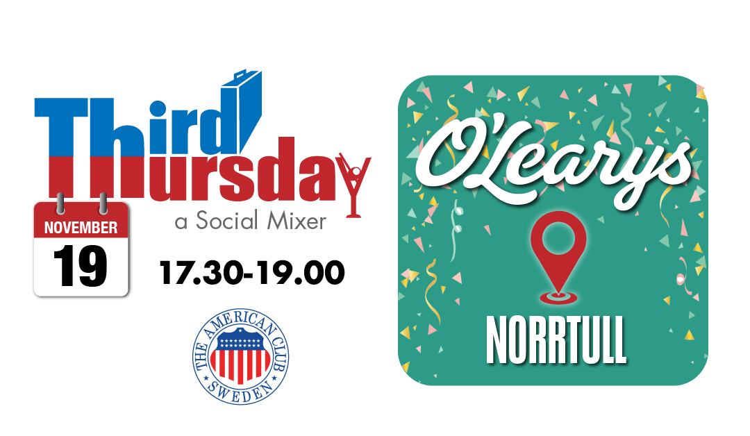 Third Thursday Mixer, Nov 19 @ O'Learys Norrtull